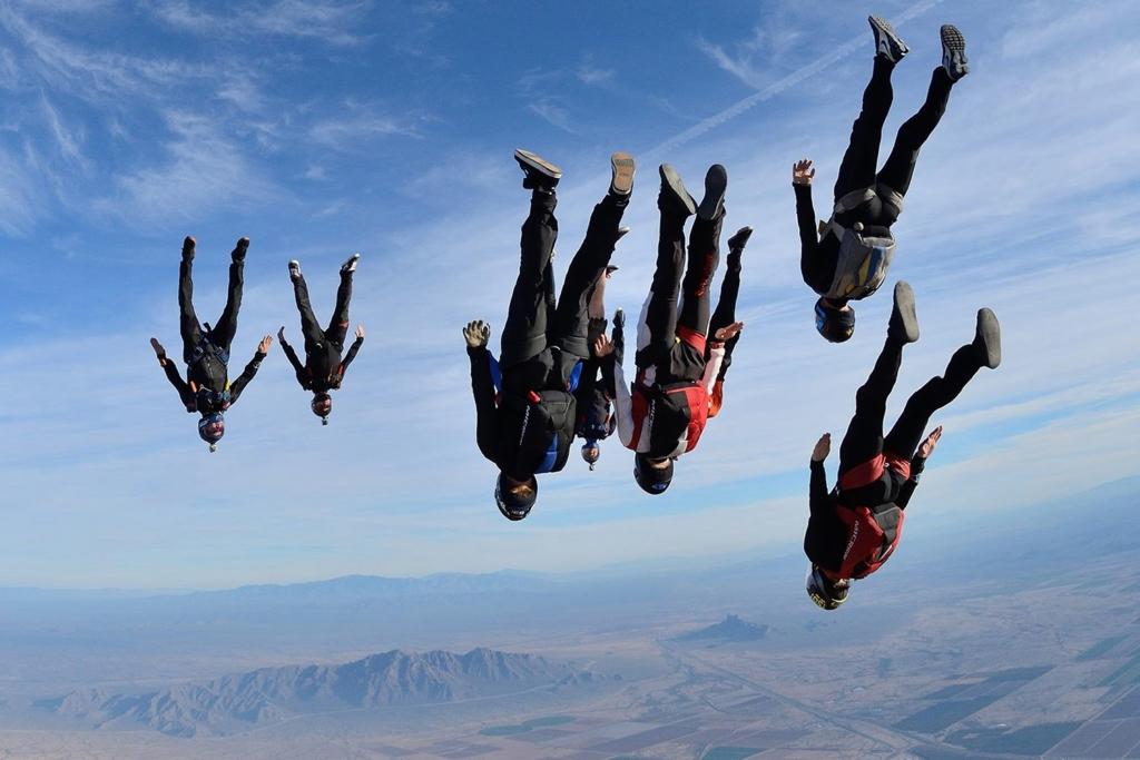 Manufactory team Freefly Arizona Skydive