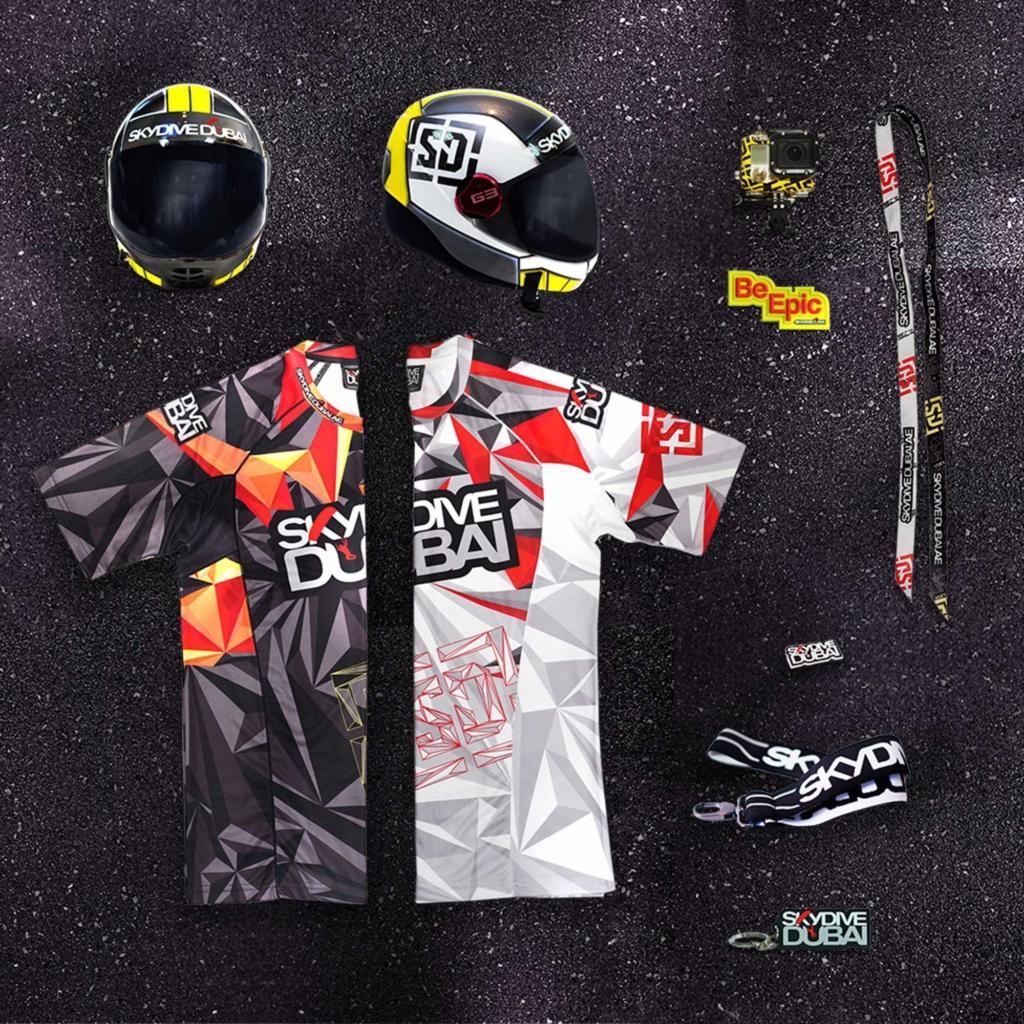 Manufactory Brand Package_Merchandise_Skydive Dubai